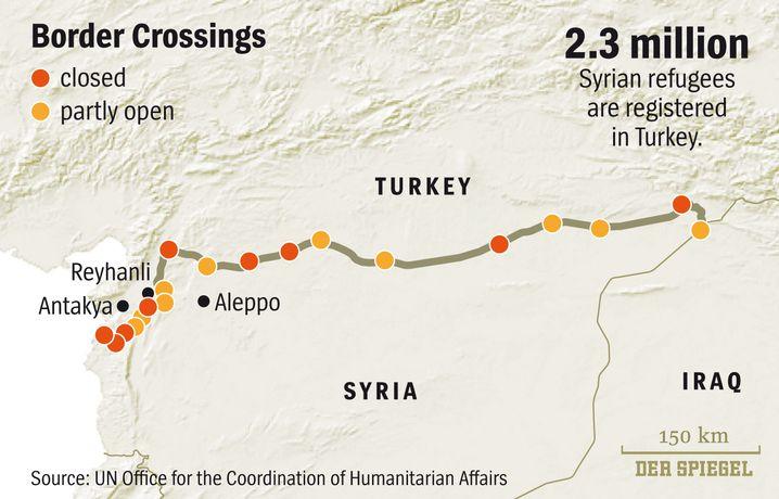 Turkey-Syria border crossings