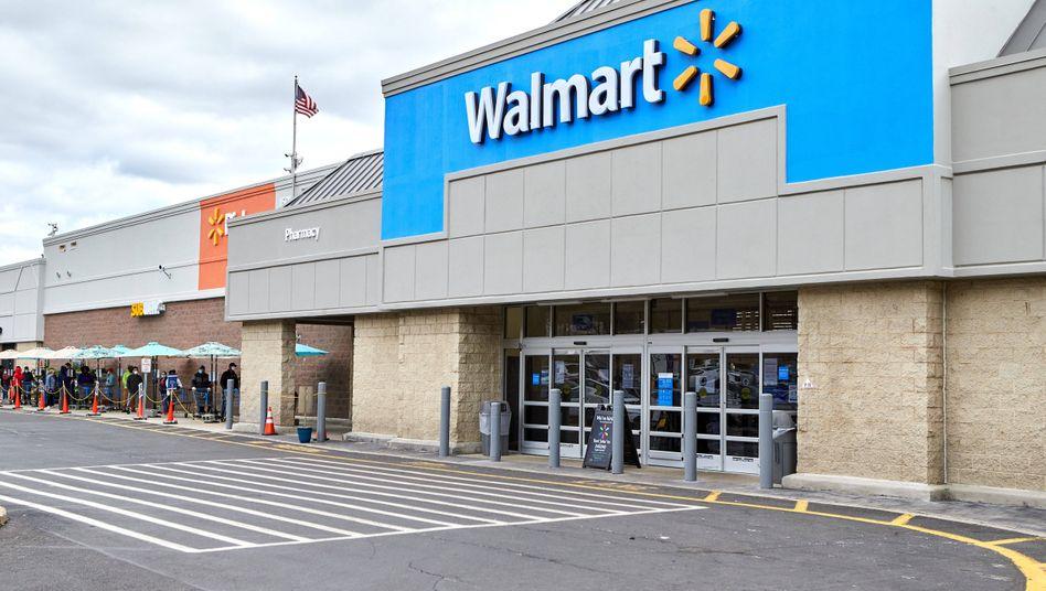 Supermarkt des US-Konzerns Walmart in Watchung, New Jersey (Archivfoto)