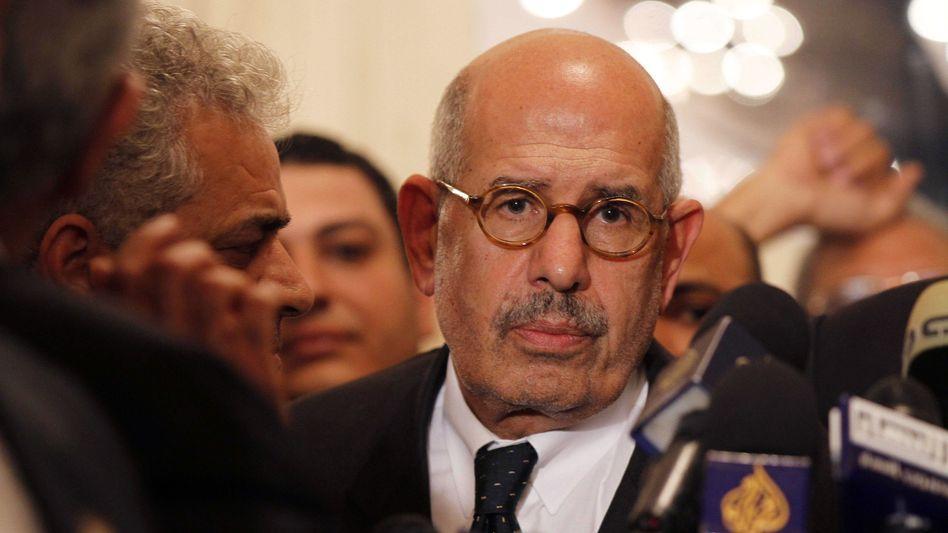 ElBaradei (im November 2012): In den Präsidentenpalast bestellt