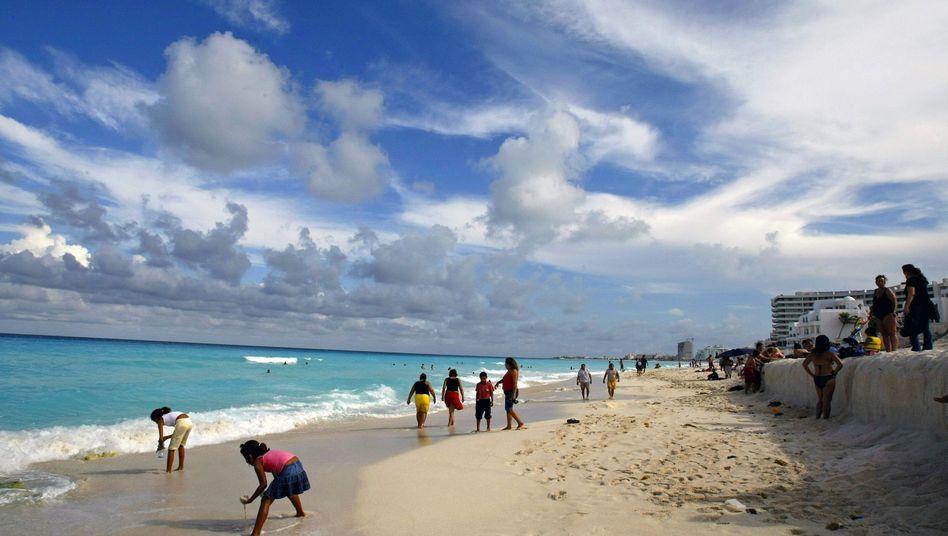 Strand am Golf von Mexiko (Archivbild aus dem August 2007): Keine Insel, nirgends