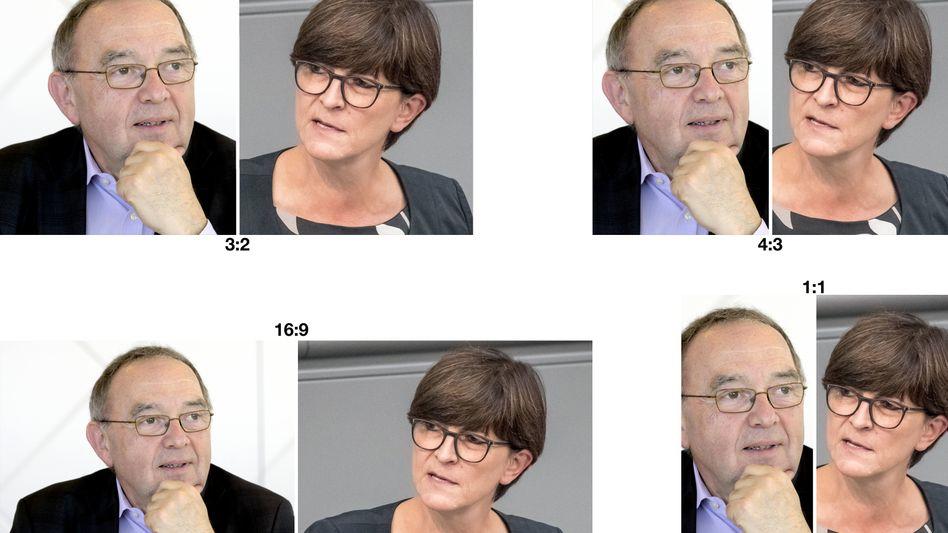 Norbert Walter-Borjans und Saskia Esken wurden vom NRW-Landesvorstand für den Parteivorstand nominiert