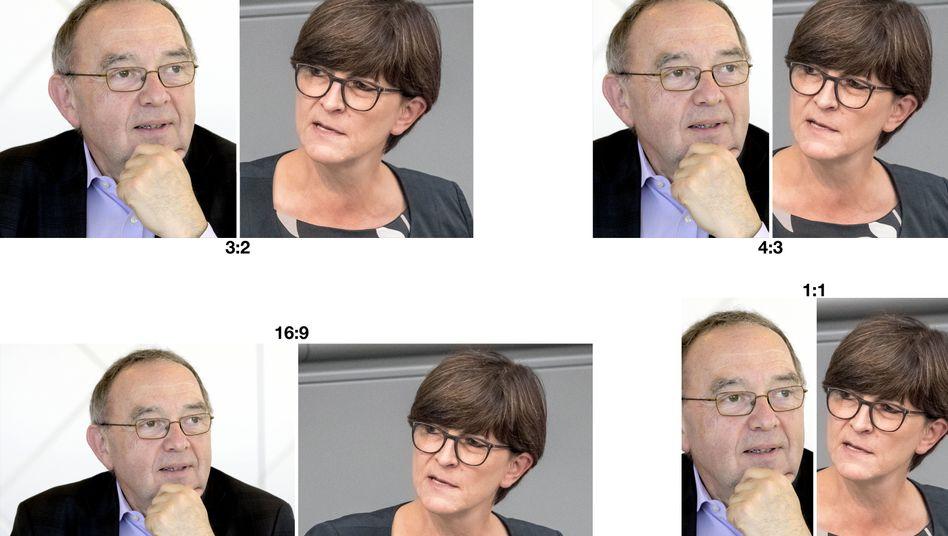 Norbert Walter-Borjans und Saskia Esken: Das Duo will sich vom NRW-Landesvorstand nominieren lassen