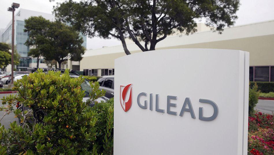 Das Pharmaunternehmen Gilead stellt das Hepatitis-C-Medikament her