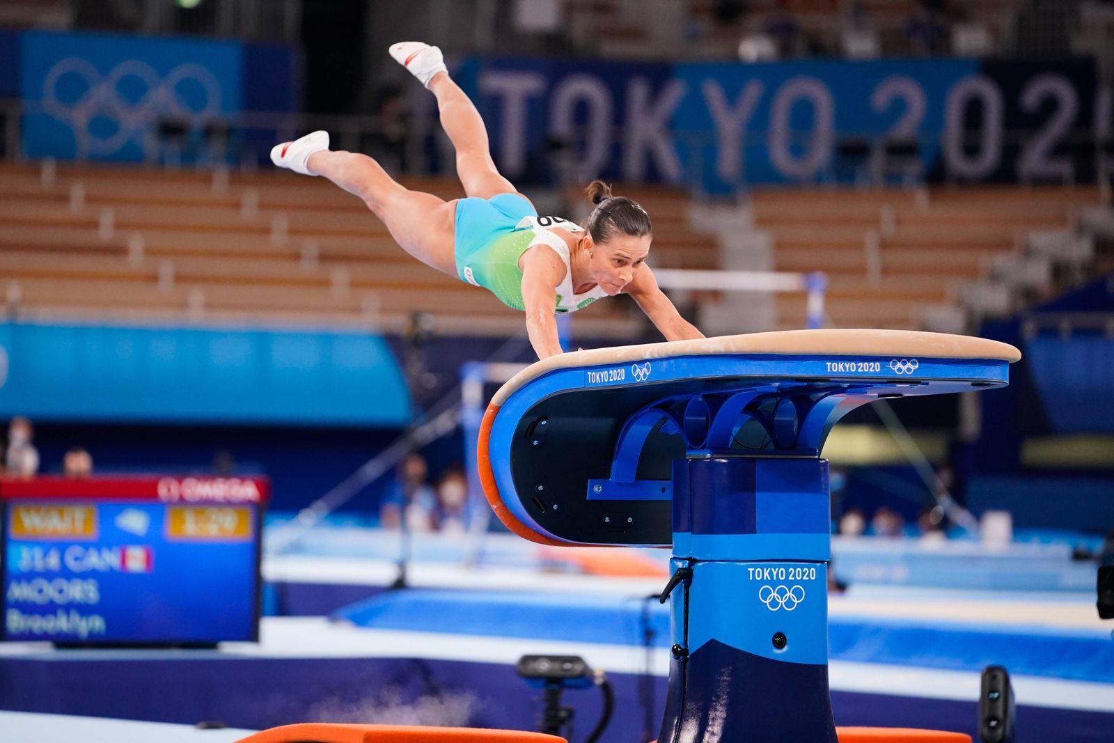 Oksana Chusovitina (UZB), JULY 25, 2021 - Gymnastics - Artistic : Women s Qualification during the Tokyo 2020 Olympic G