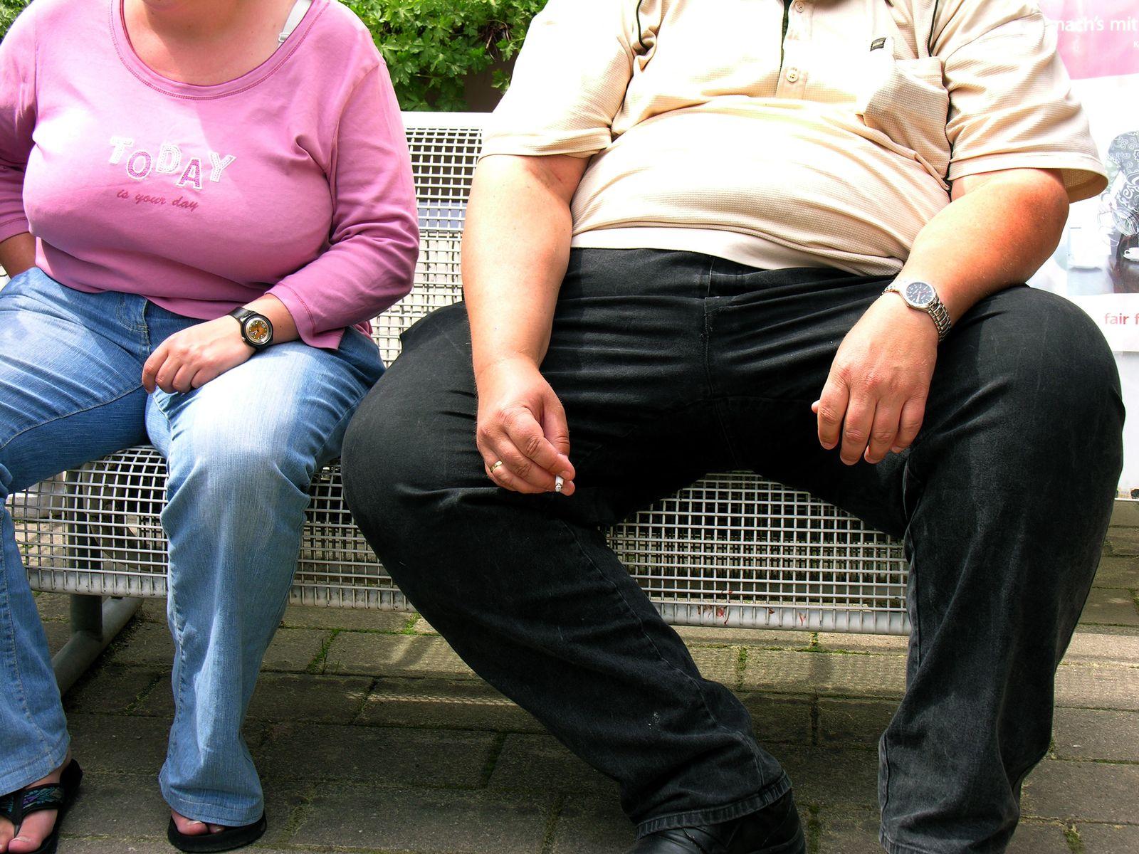 NUR FÜR SPAM Übergewichtig