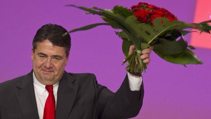 SPD-Parteitag: Jubelfeier in Berlin
