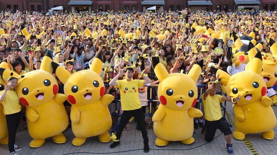 Pokémon-Mania in Japan
