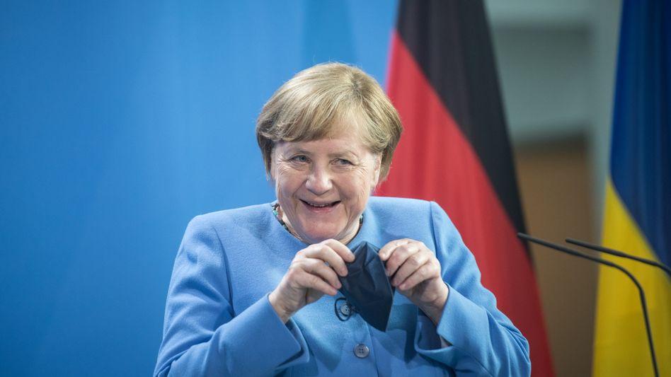 Angela Merkel: Die Kanzlerin ist die erste Regierungschefin aus Europa, die von Biden seit dessen Amtsantritt im Januar im Weißen Haus empfangen wird