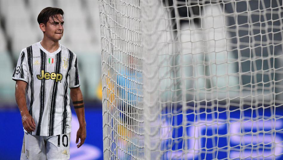Paulo Dybala wird nach einer Viertelstunde wieder ausgewechselt