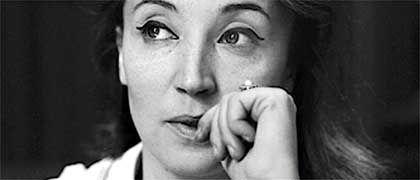 Die Italienerin Oriana Fallaci, 1963, als sie nach New York zog, um zum Weltstar des Journalismus zu werden