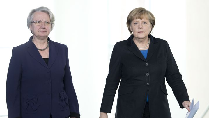 Annette Schavan: Das Aus für Merkels Vertraute