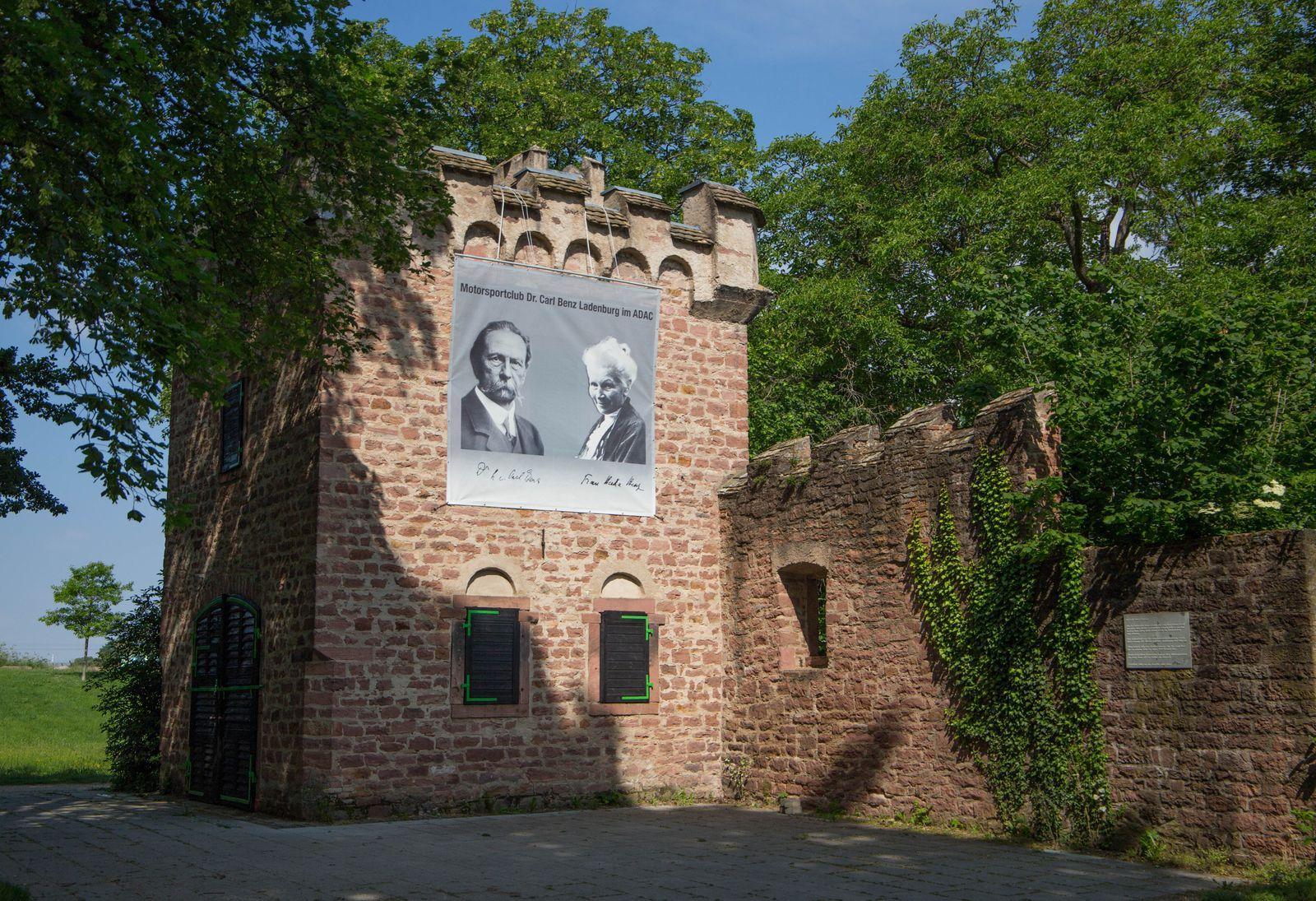 Benz älteste geplante Garage