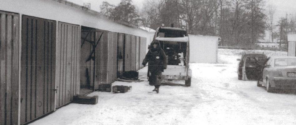 Durchsuchung der Bombenwerkstatt in Jena 1998: Stoff für 20 Handgranaten