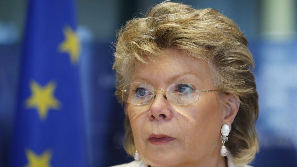 """EU-Justizkommissarin Reding: """"Europäische Probleme in Europa lösen"""""""