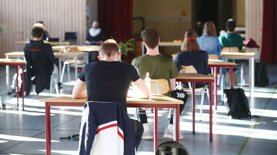 Abiturprüfung im thüringischen Jena