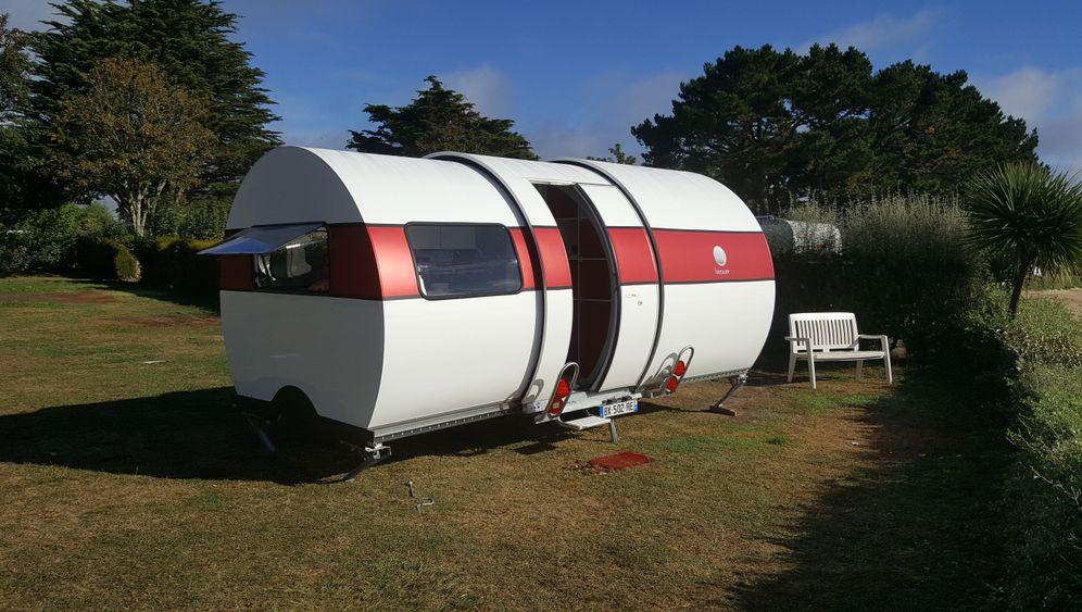 Ausziehbarer Wohnwagen Beauer 3X: Kleiner kommt groß raus