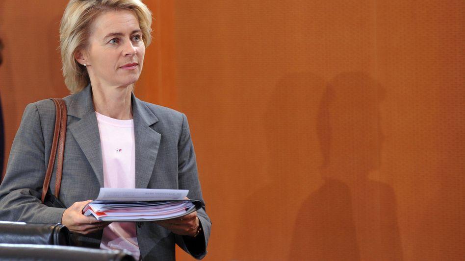 """Ministerin von der Leyen: """"Das darf nicht passieren"""""""