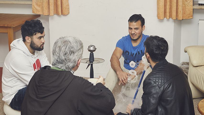 Arian Bayat, Bruder Jeremias, Ali Shirzad, Hashim Maqsodi