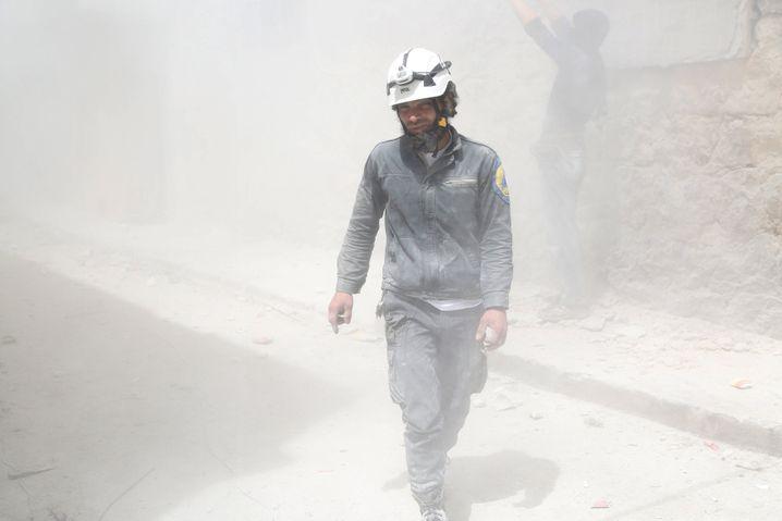 Mitarbeiter der syrischen Weißhelme