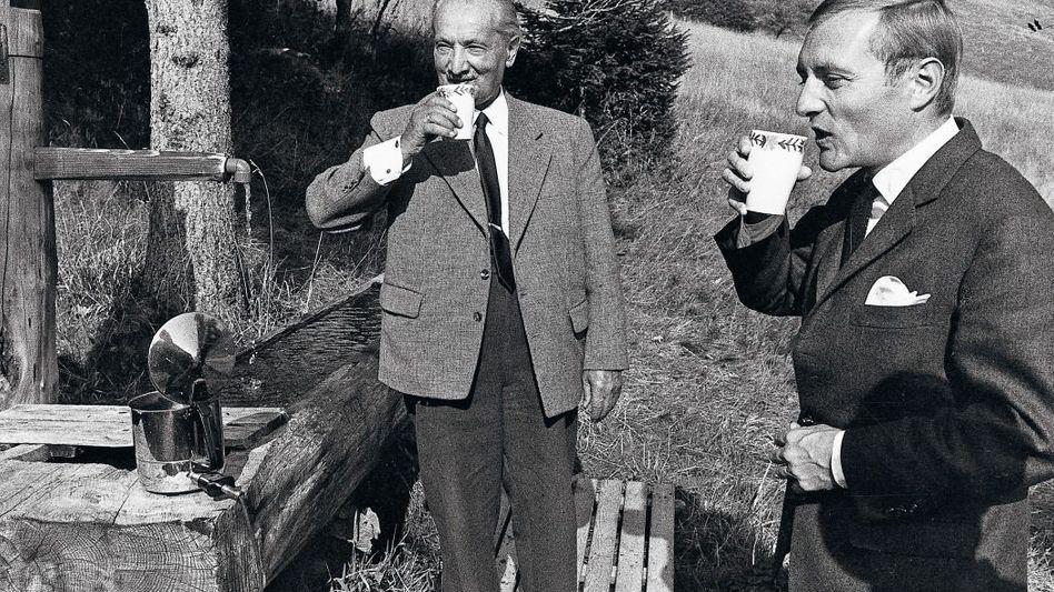 Heidegger, Augstein 1966