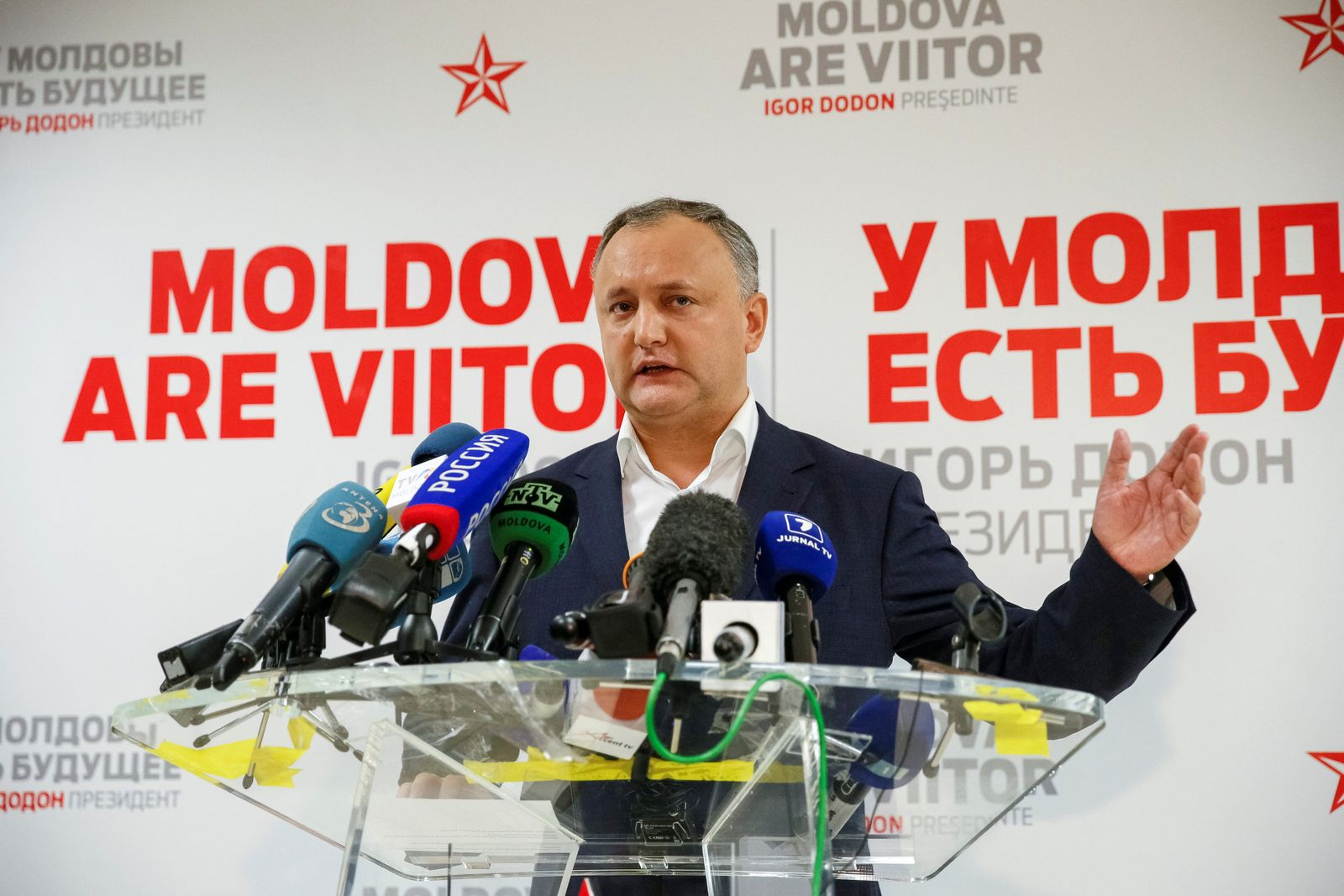 Moldowa / Igor Dodon