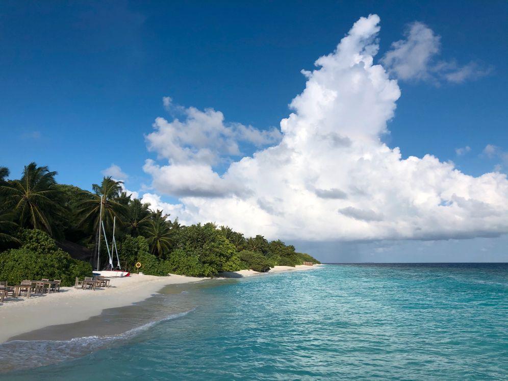 Die Malediven erwarten neue Besucherrekorde - die wieder für höhere Umweltbelastung sorgen