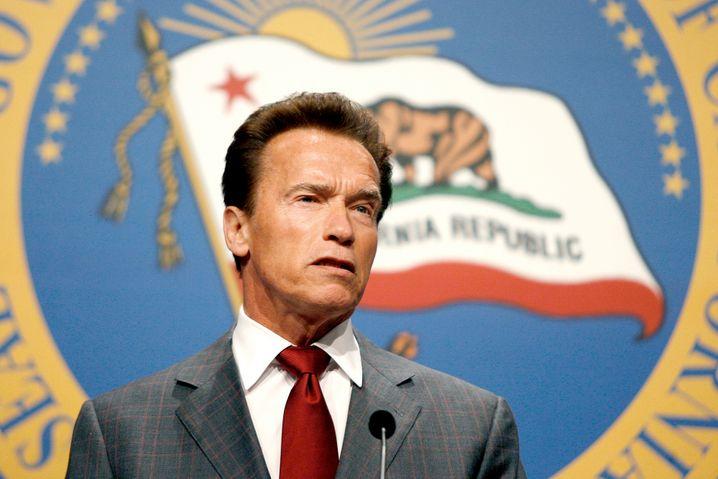 Schwarzenegger als Gouverneur von Kalifornien: Das Gegenteil von Trump?