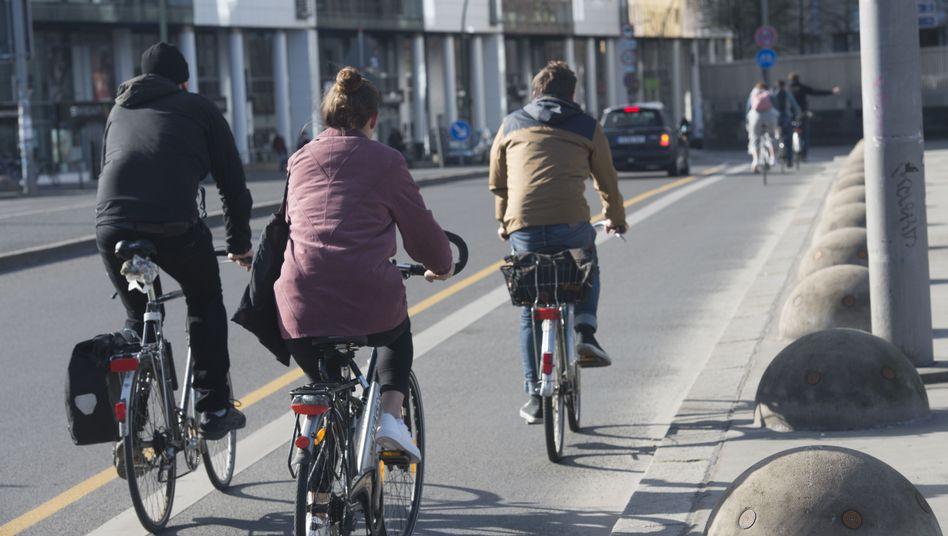 Radfahren hält fit und schont die Umwelt