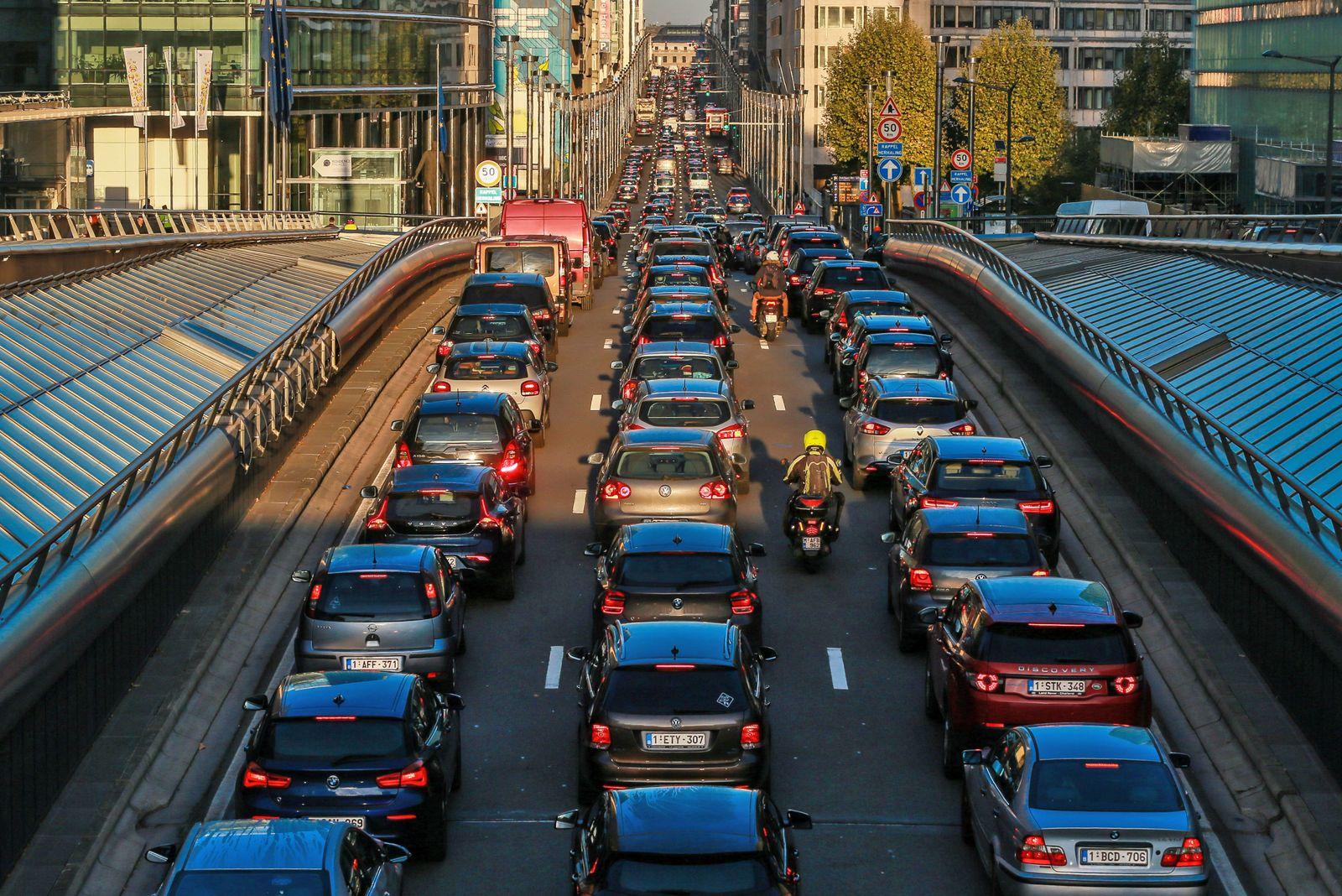 Brüssel Verkehr