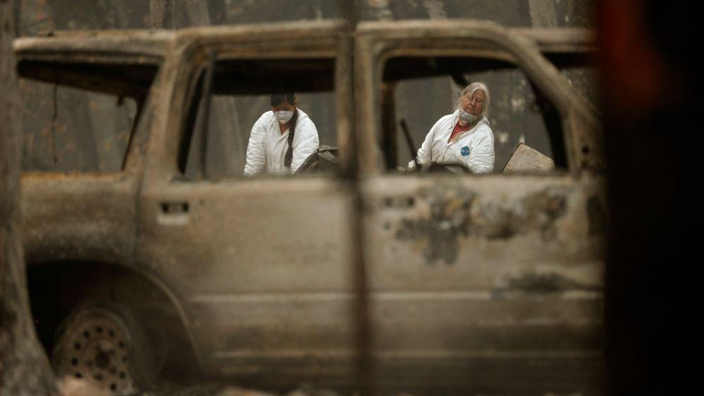 """Waldbrände in Kalifornien: """"Außerordentliches Chaos"""""""