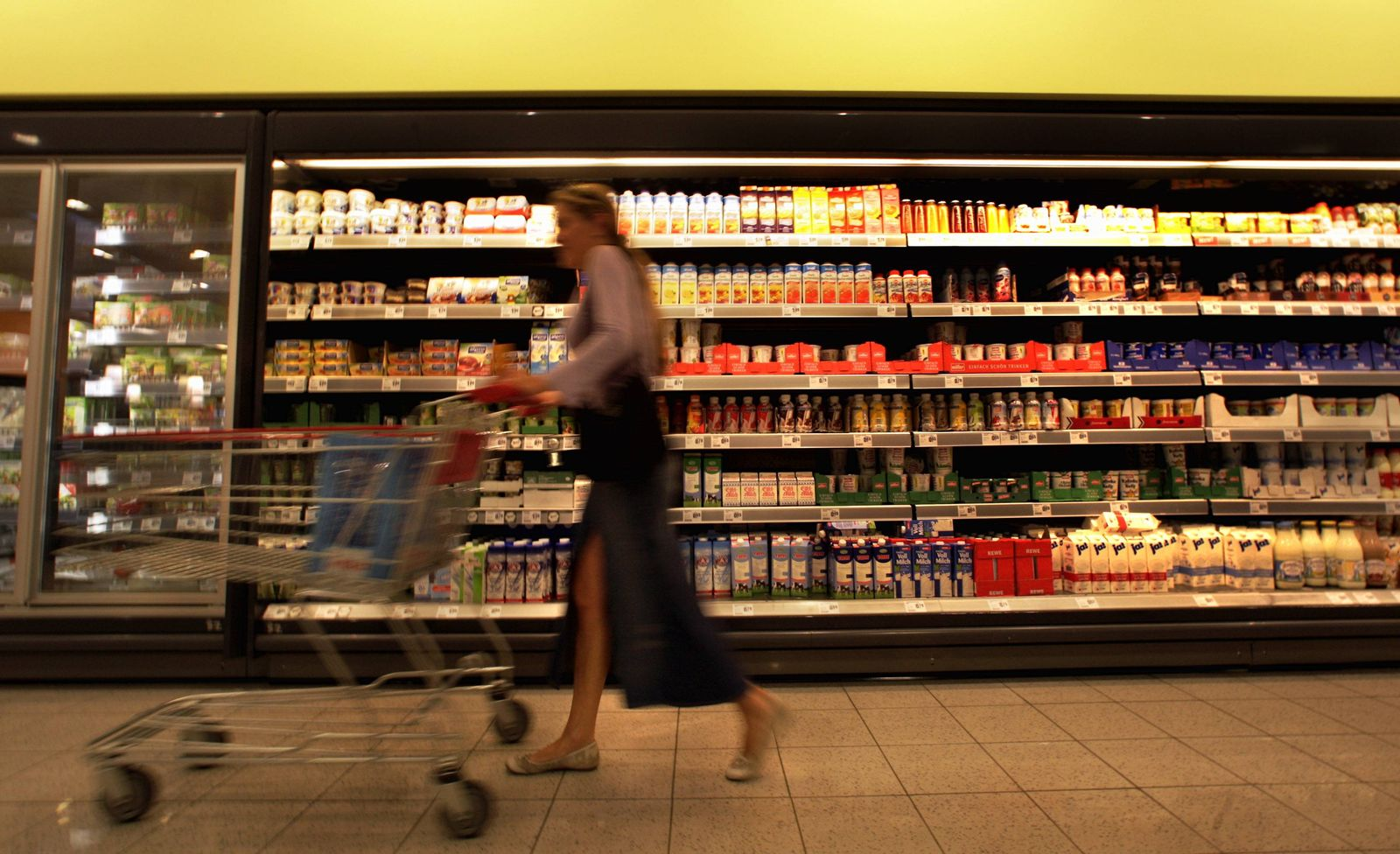 NICHT VERWENDEN Supermarkt