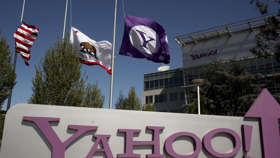 Yahoo-Zentrale in Kalifornien: Mehr als 30.000 Nutzer-Accounts wurden angefragt