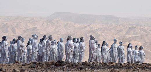 Spencer Tunick: Kunstwerk in Israel für das schrumpfende Tote Meer
