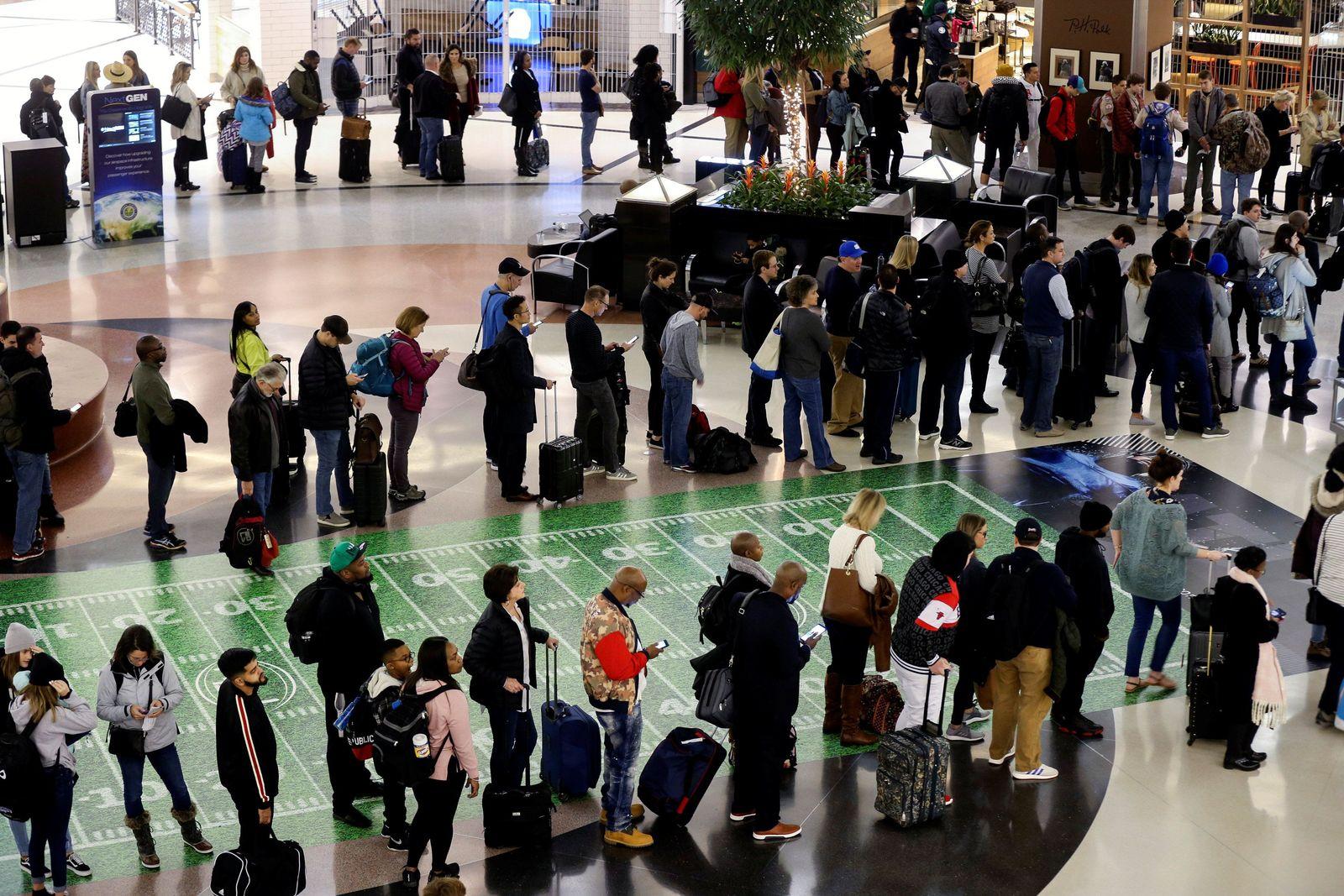 Tourismus/ Shutdown/ TSA