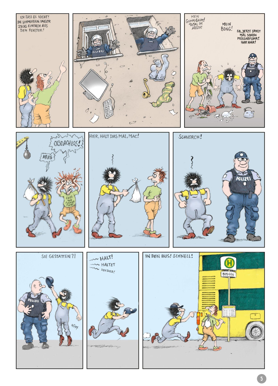 EINMALIGE VERWENDUNG Comictipps/ Gerhard Seyfried: Zwille