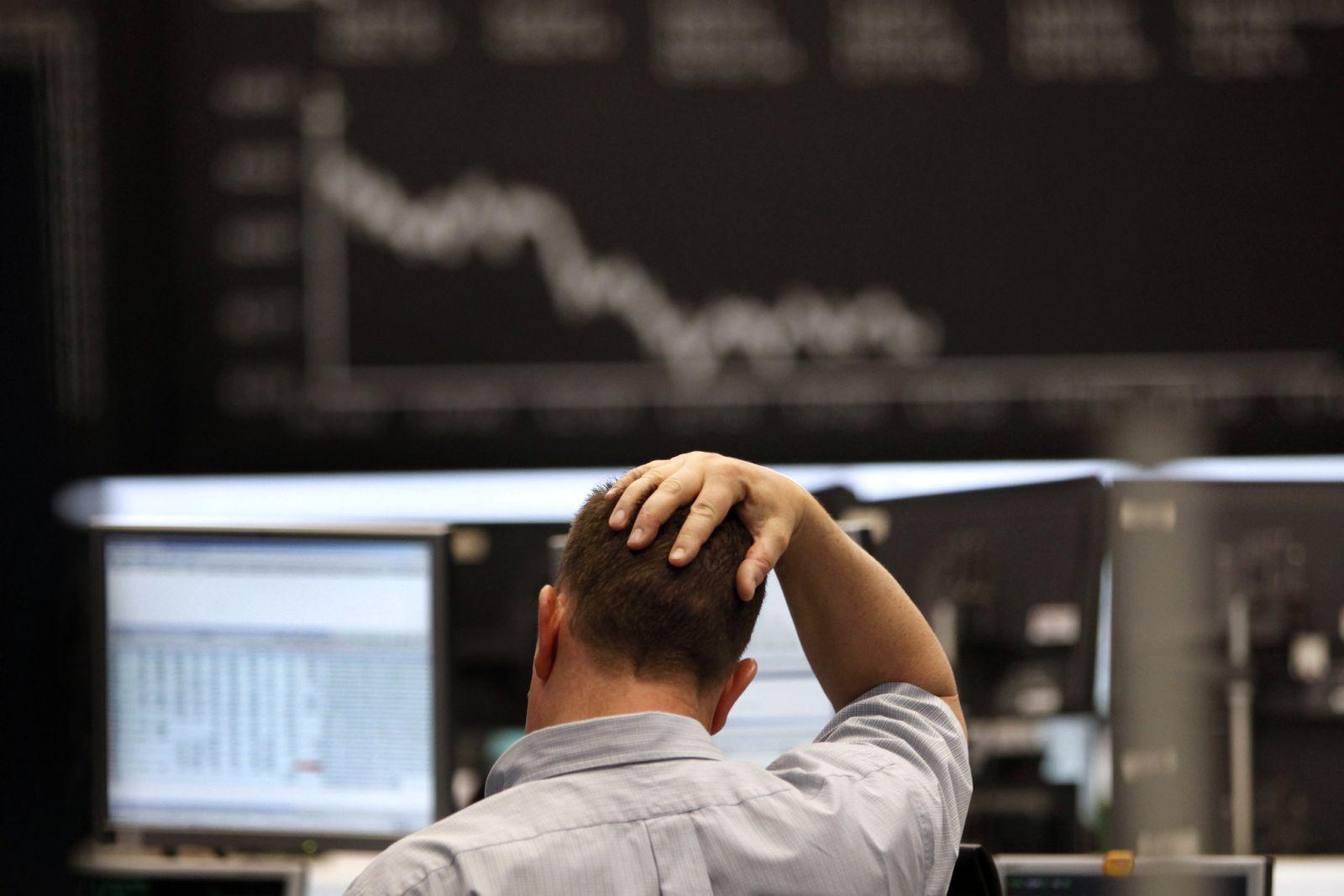 NICHT VERWENDEN Aktienmarkt weitet Verluste aus