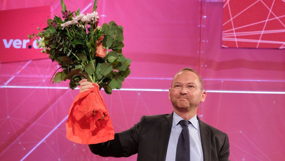 Frank Werneke ist der neue Chef von Ver.di