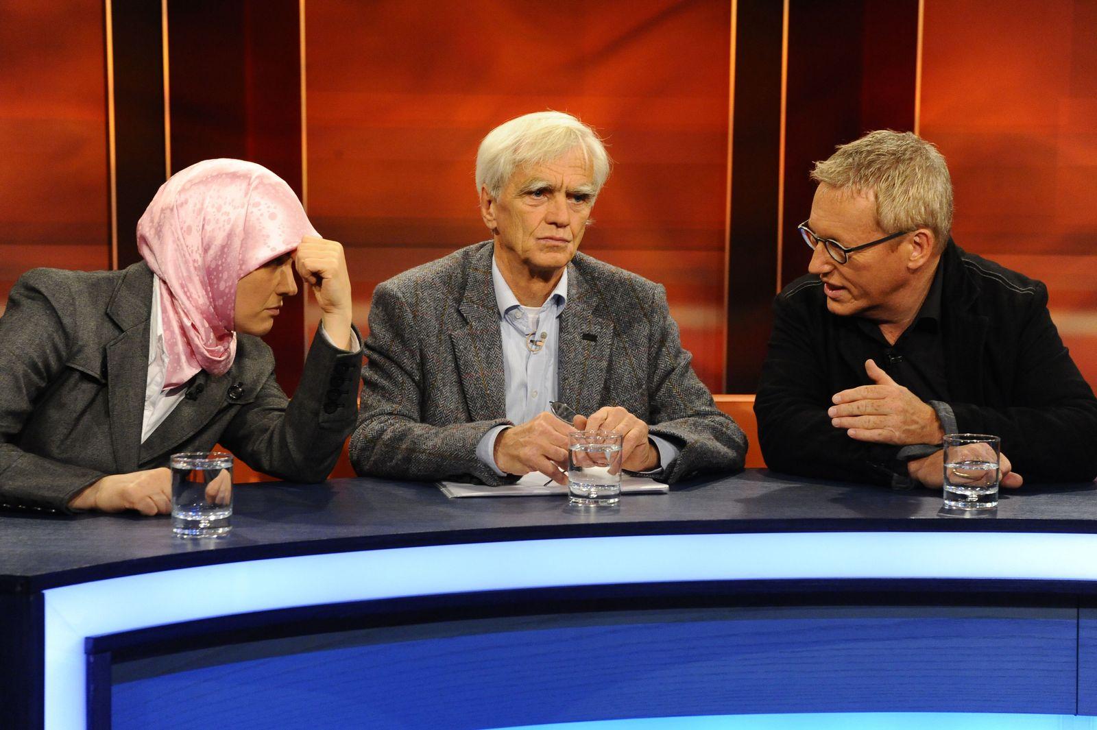EINMALIGE VERWENDUNG Hart aber Fair / 07.10.2009