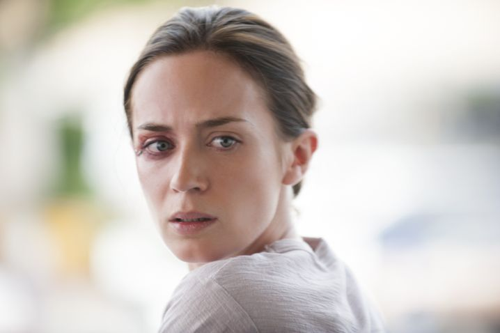 """Emily Blunt im Wettbewerbsfilm """"Sicario"""" von Denis Villeneuve"""