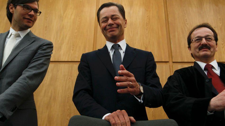 """Thomas Middelhoff sei als """"besonders haftempfindlich einzustufen"""", sagte der Richter am Landgericht Essen"""