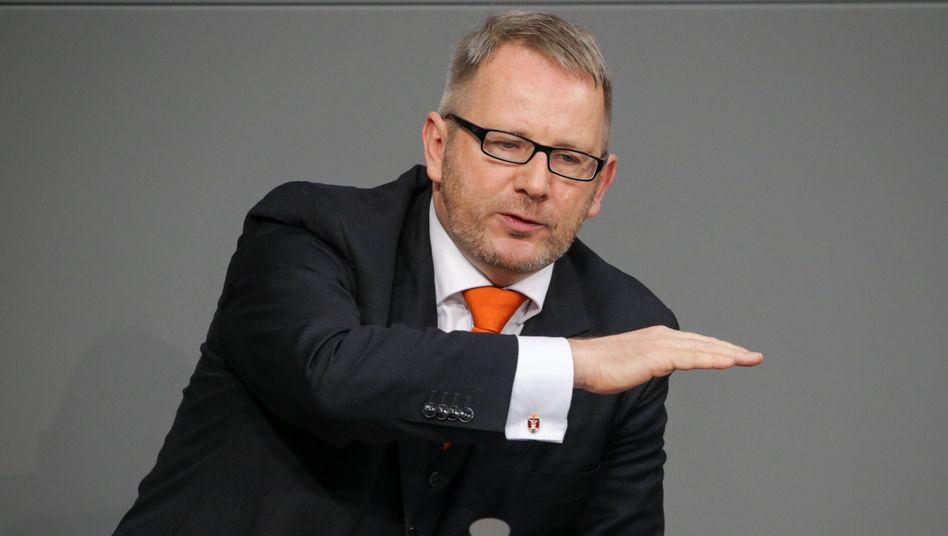"""SPD-Politiker Johannes Kahrs: """"Nach zwei Wochen Bedenkzeit habe ich die Zusage des Fraktionsvorsitzenden bekommen"""""""
