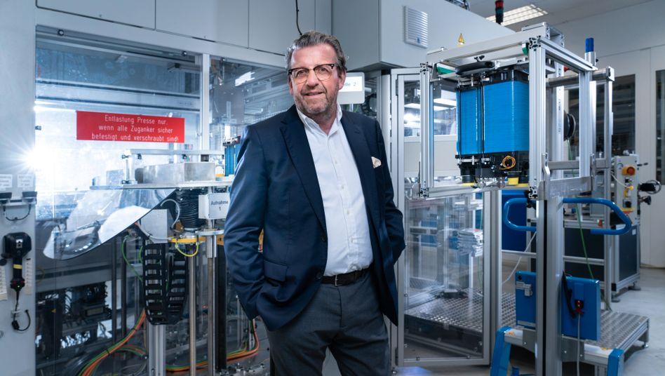 """Künftiger Gesamtmetall-Präsident Wolf: """"Wir brauchen jetzt Mehrarbeit ohne vollen Lohnausgleich"""""""