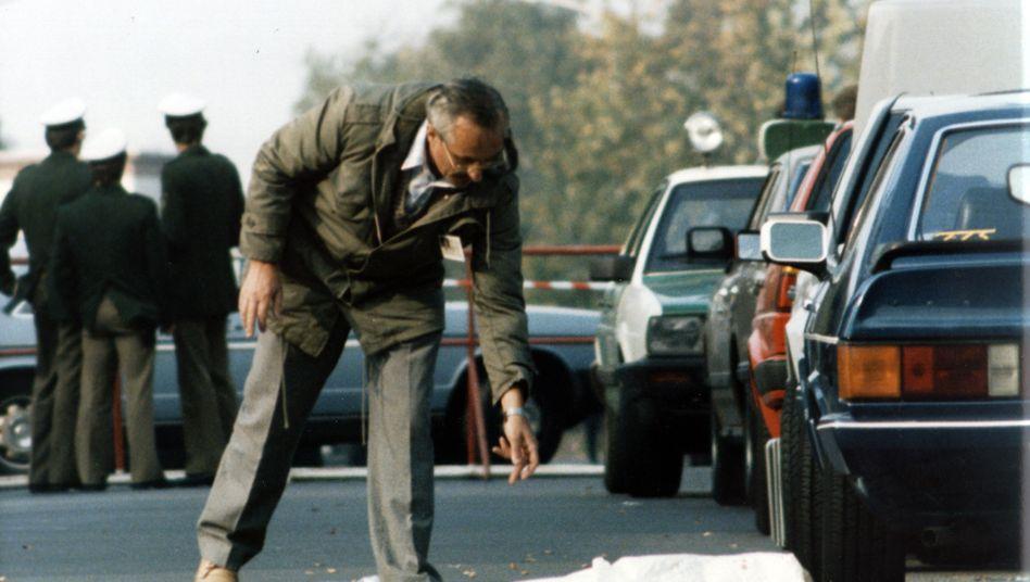 Tatort des Mordes an Georg von Braunmühl in Bonn (1986)
