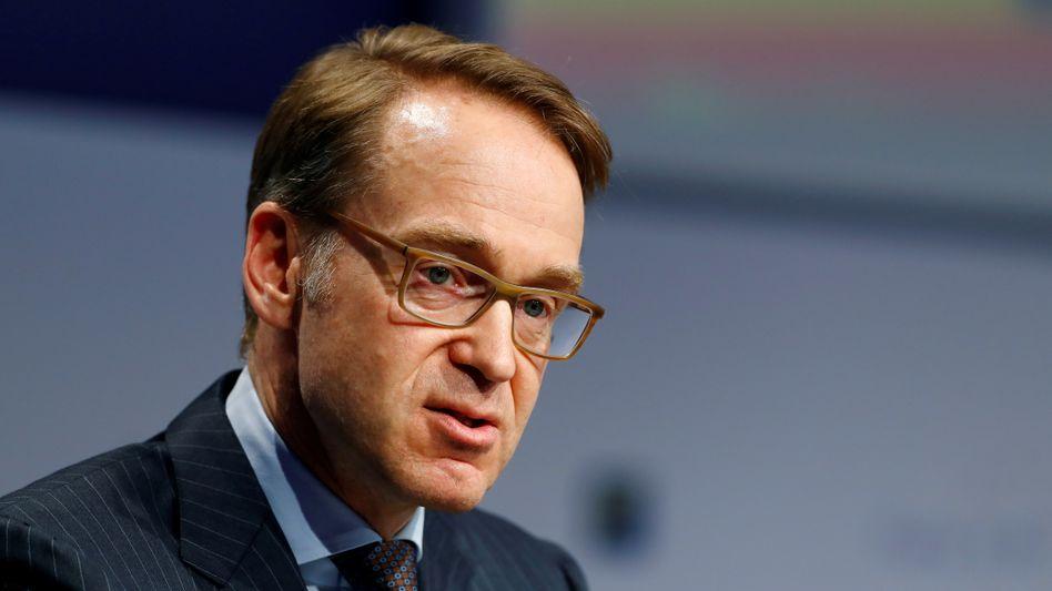 Bundesbankchef Weidmann (2019): Gegen zu lange Fortschreibung der tiefen Zinsen