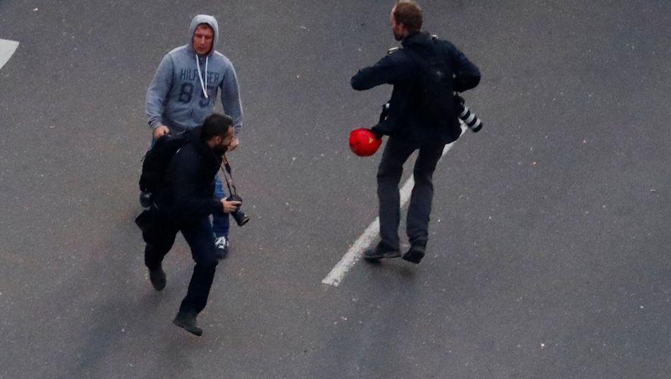 Angriff auf Journalisten in Chemnitz