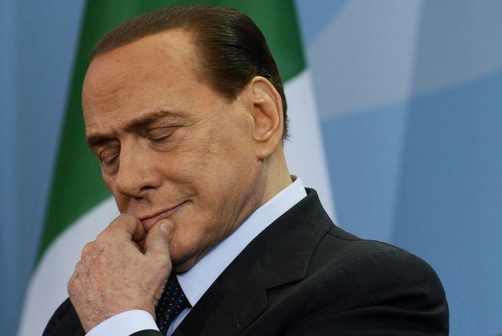 Italienischer Premier Berlusconi: Altherrenwitze und Hilflosigkeit