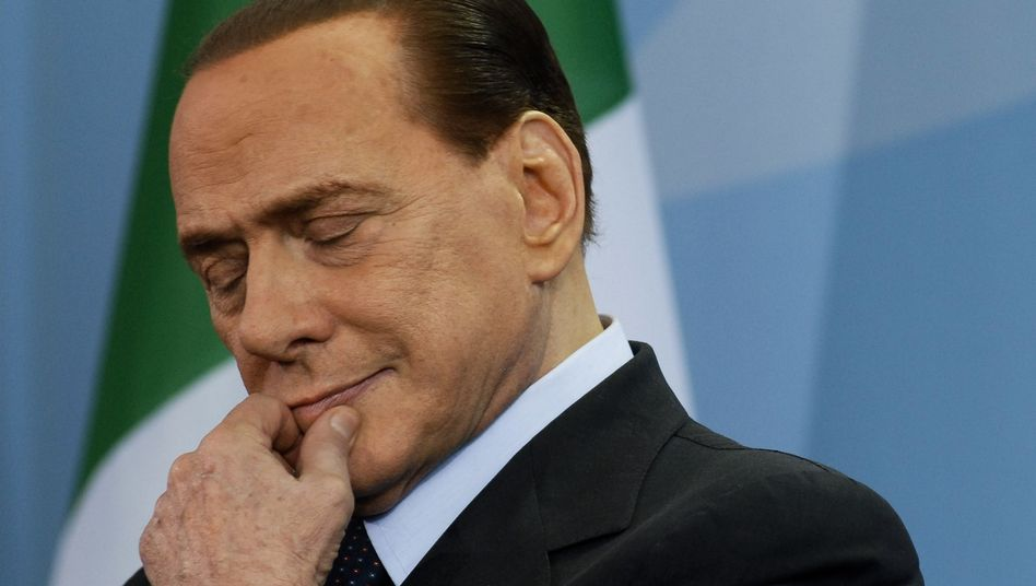 Italian Prime Minister Berlusconi -- facing the wrath of the markets.