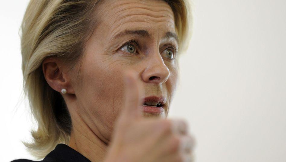 Arbeitsministerin von der Leyen: Neuer Name zur Hartz-IV-Imagekorrektur