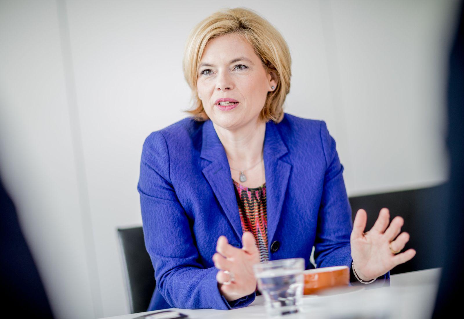 Agrarministerin Julia Klöckner
