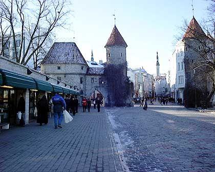 Die Altstadt von Tallinn steht unter Denkmalschutz